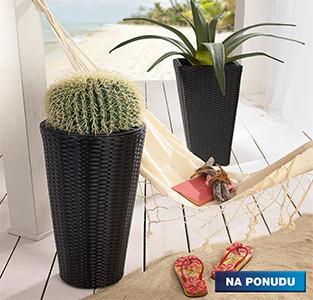 pletene košare za cvijeće
