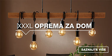 Viseća svjetiljka s žaruljama