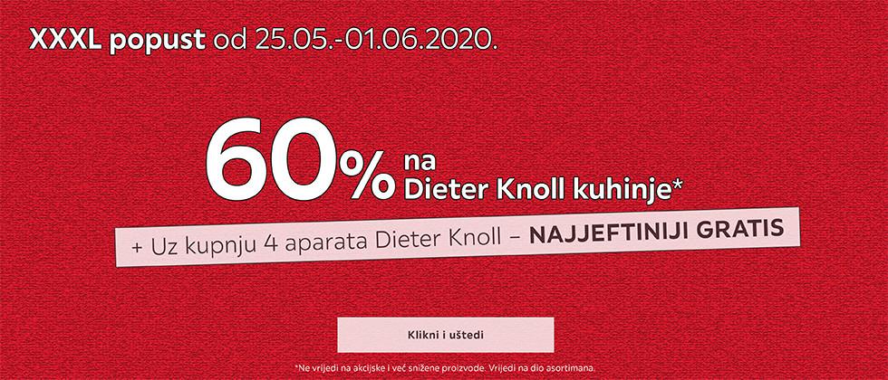 60% popusta na Dieter Knoll kuhinje