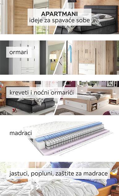 Apartmani - ideje za uređenje spavaće sobe