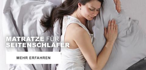 Matratze fuer Seitenschlaefer