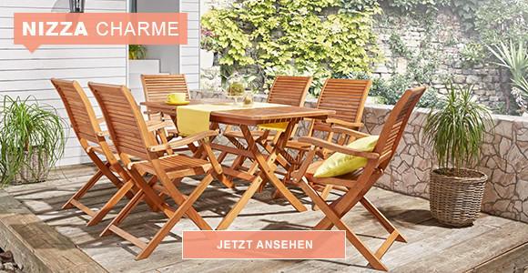 Balkonmöbel im französischen Stil