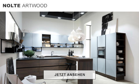 Nolte Artwood Küche Holz Dunkel