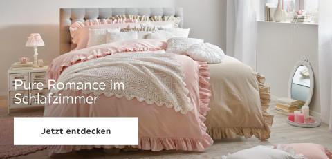 Pure Romance Romantik Rosa Schlafzimmer
