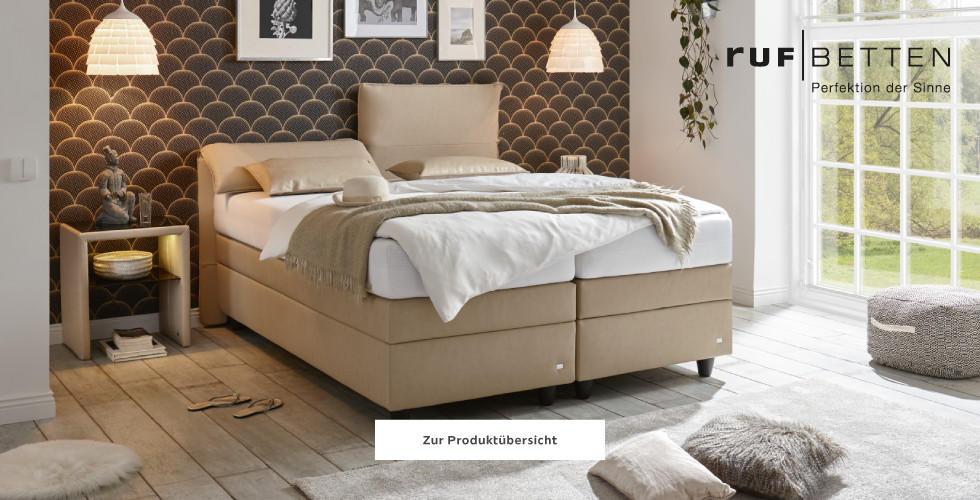 Zur RUF Betten Produktübersicht