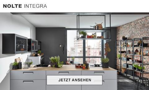 Nolte Integra Küche Weiß Grau