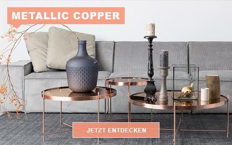 Shop the Look - Mettalic Copper