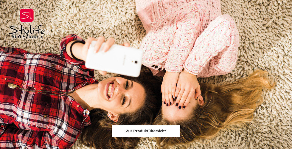Stylife Style your Life Selfie Wohnzimmer Teppich