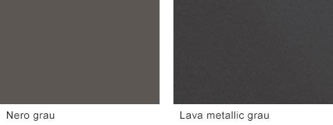 Set One by Musterring Korsika Korpusfarben Nero grau Lava metallic grau