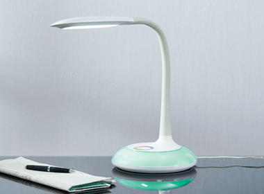 Moderna stolna LED svjetiljka bijele boje Lesnina XXXL