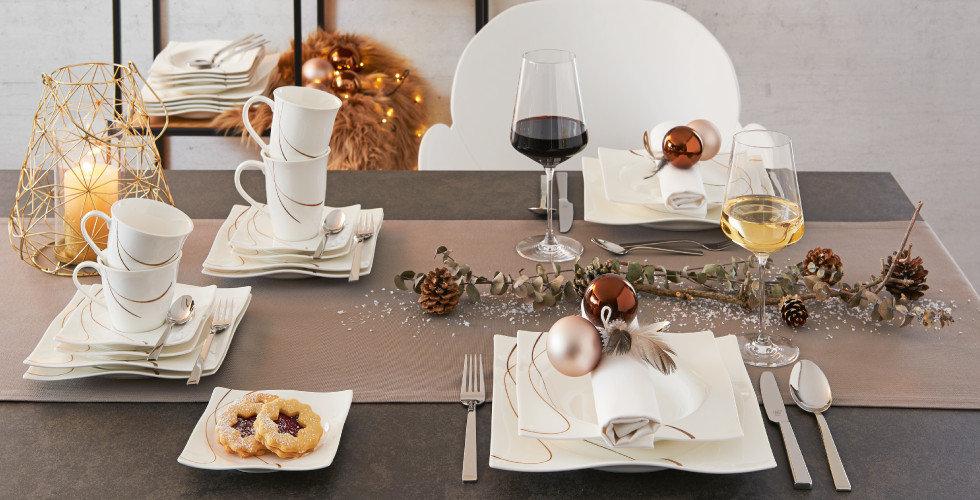 x-mas Küche Esstisch Weihnachten