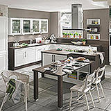 C21-Küchenausstattung