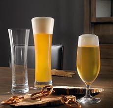 Sklenice na pivo velké a malé v různých provedeních v XXXLutz.