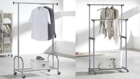 vješalice na kotačićima za odjeću