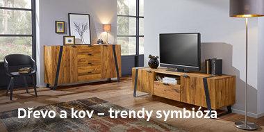 Dřevo a kov