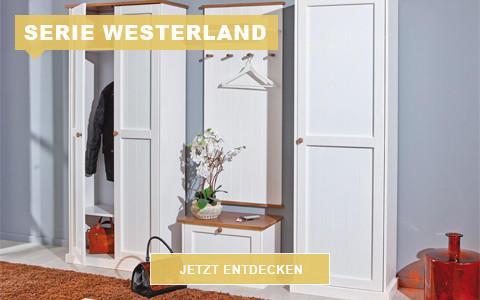 Garderobe Westerland weiß