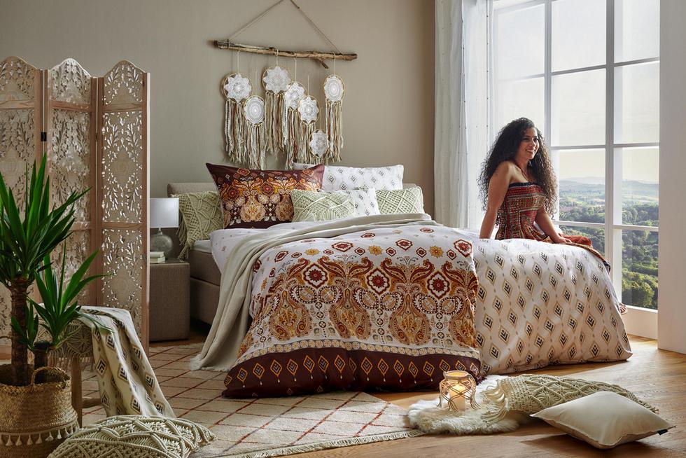 Schlafzimmer Bettwäsche Boho Gypsy