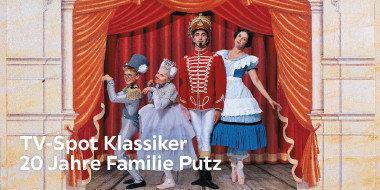 TV-Spot Klassiker 20 Jahre Familie Putz