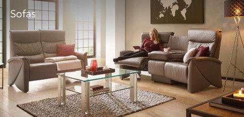 Sofa Wohnzimmer Himolla