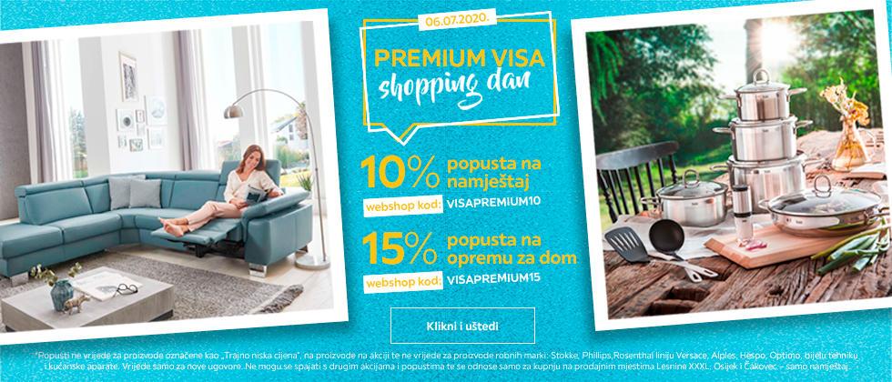 Shopping day Visa Premium 10 i 15%