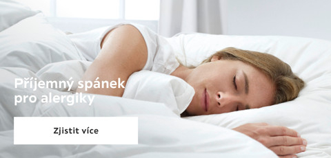 Prijemny spanek pro alergiky