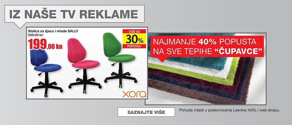 TV reklama Lesnina XXXL