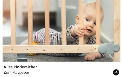 Babyratgeber Alles kindersicher
