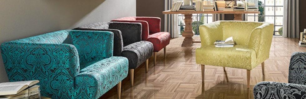 fotelje u veselim bojama