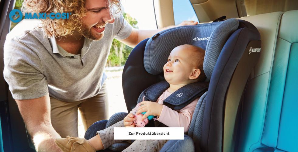 Kleinkind in Maxi Cosi Kindersitz
