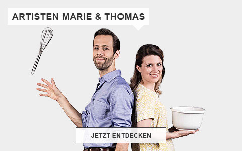 Making of Kochvideso Kochkunst Artisten Marie & Thomas