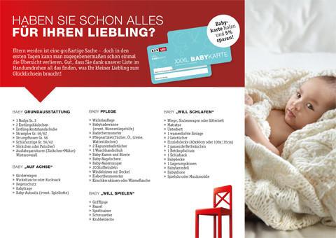 Babycheckliste