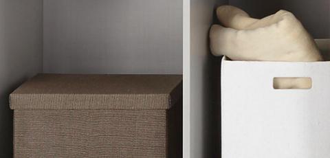 Körbe Boxen für Kleiderschranksystem