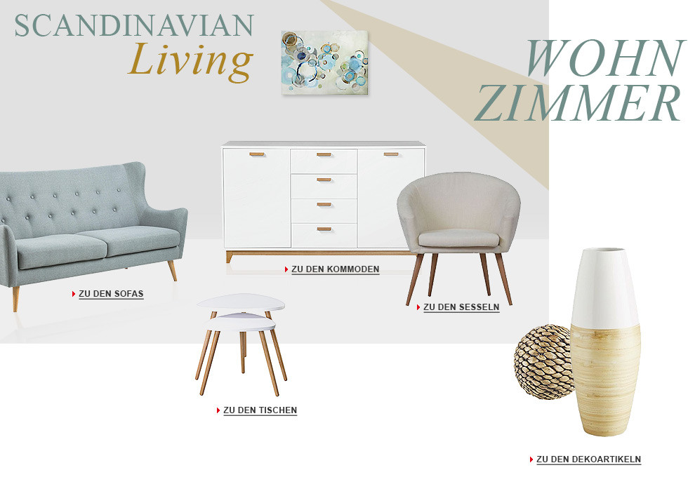 Skandinavische Wohnzimmer Trends