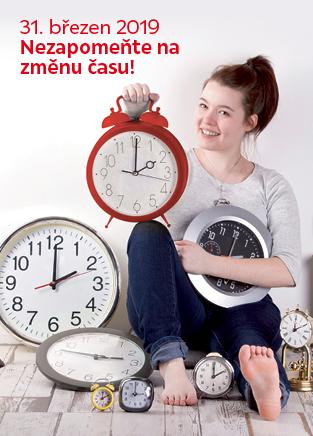 Hodiny - změna času