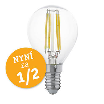 LED ŽÁROVKA - čiré, Basics (7,7cm) - Homeware