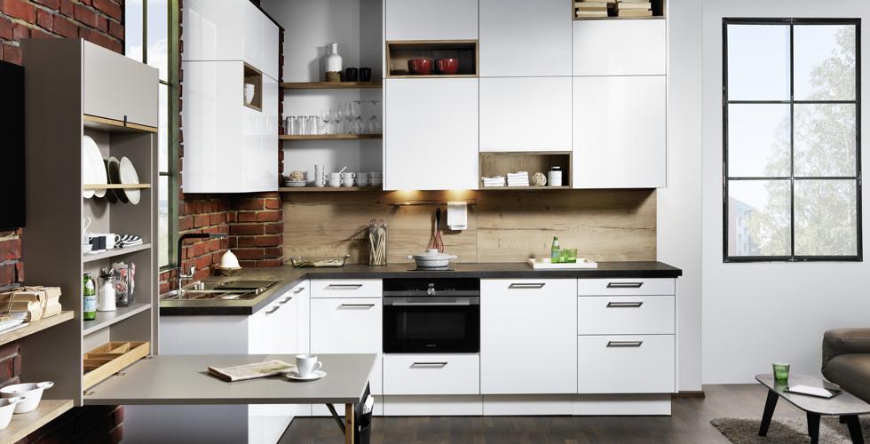 Kleine Küche Stauraum