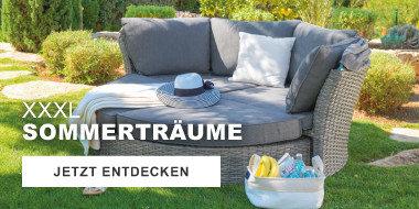 XXXL Sommertraeume -  Gartenmoebel zum Entspannen