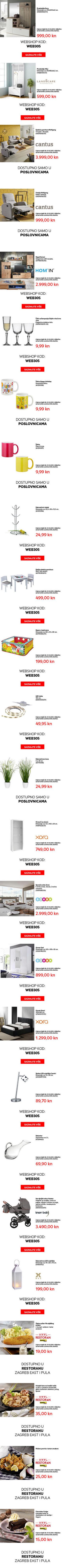 Mjesečna ponuda za 10. mj. u Lesnini