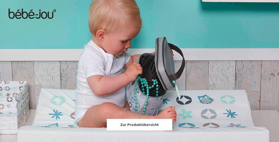 Baby auf Bebe Jou Wickelunterlage