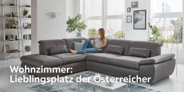 Wohnzimmer:  Lieblingsplatz der Österreicher