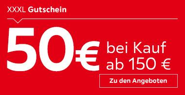 50€ Gutschein bei Kauf ab 150€