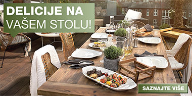 Moderan i elegantan pribor za jelo Lesnina XXXL