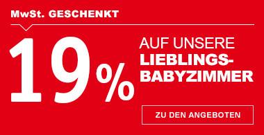 19% auf Lieblingsbabyzimmer