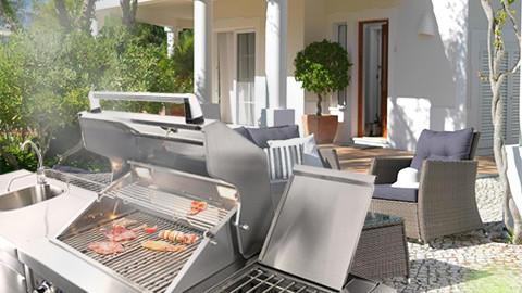 Outdoorküche Mit Gasgrill Xxl : Outdoor küche mit gasgrill grill in outdoor küche integrieren