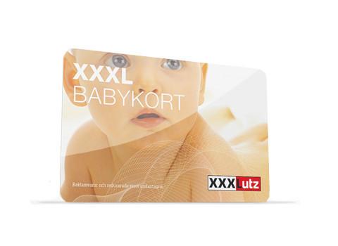 XXXL Babykort