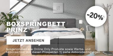 Boxspringbett Prinz