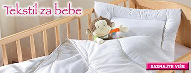 Tekstil za dječji krevetić my baby Lou