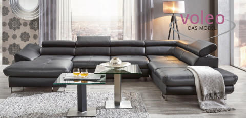 schwarze Sofa - Produktwelt ansehen
