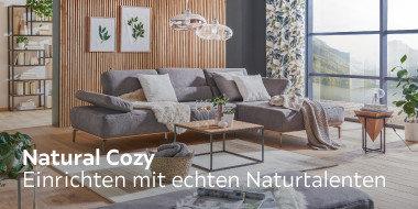 Natural Cozy Einrichten mit echten Naturtalenten