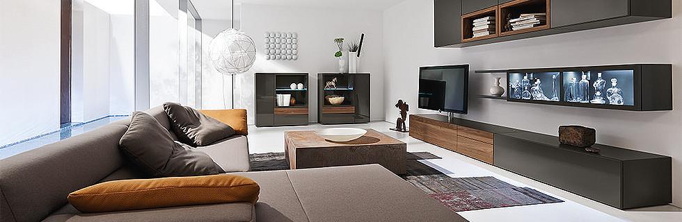 klar elegant richten sie ihr wohnzimmer mit hlsta ein wohnzimmermbel - Wohnzimmer Mobel Hulsta